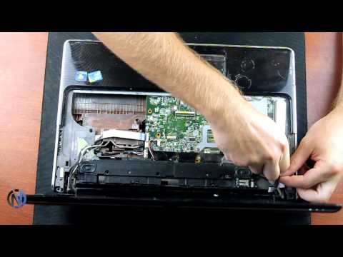 HP Pavilion dv6 - Disassembly and cleaning