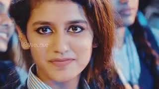 Mere rashke Qamar with priya prakash viral video on YouTube