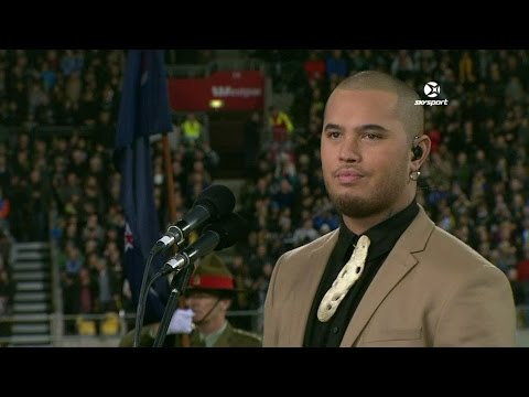 Stan Walker to perform before the All Blacks