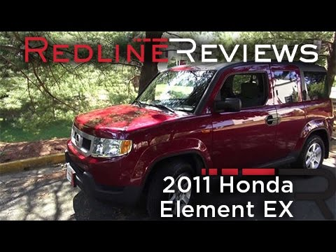 2011 Honda Element EX Walkaround, Exhaust, Review, Test Drive