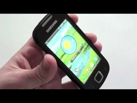 Samsung GT-I5800 - видео обзор Galaxy 580 ( GT-I5800 ) от Video-shoper.ru