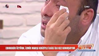 Ebubekir Öztürk, ilk kez konuştu