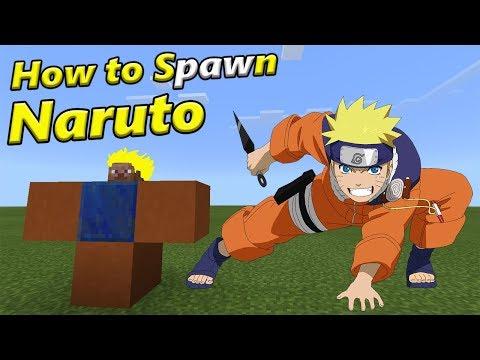 How To Spawn NARUTO   Minecraft PE