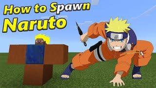 How to Spawn NARUTO | Minecraft PE