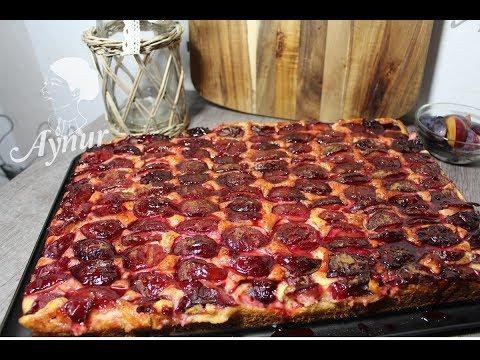 KANDIL TARIFI I Kolay ve hafif  Erikli puddingli tepsi keki Tarifi I hafif Ramazan tatlilari