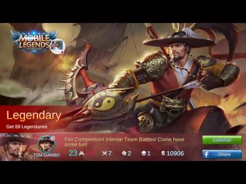 Tge grind to Legend! | Skin giveaway at 1000 subs | Mobile Legends
