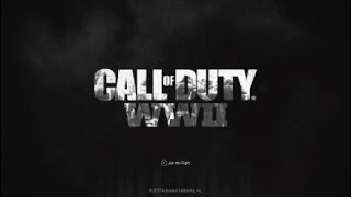 Call of Duty®: WWII_Cannot Play Game Without Updating The Game