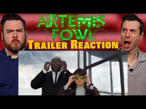 🎵Here Comes the Boy in Black 🎵| Artemis Fowl Trailer Reaction