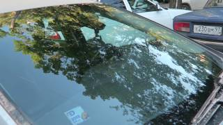 Форд Фокус 3, Полировка лобового стекла от царапин(, 2017-06-29T15:28:25.000Z)