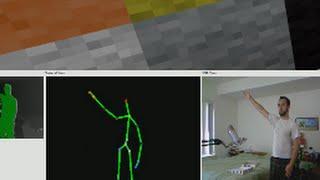 Minecraft Kinect Charades w/Etho, Guude & CaptainSparklez