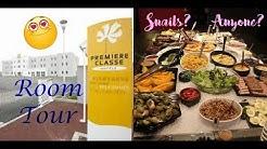 HOTEL PREMIERE CLASSE CAEN + I Eat Snails in France?