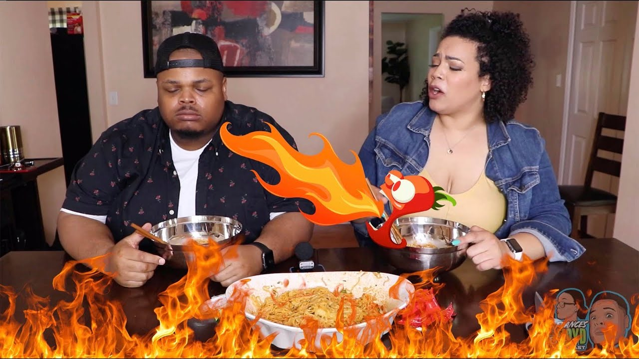 Best Do A Spicy Noodle Challenge or You're A Wussy - YouTube