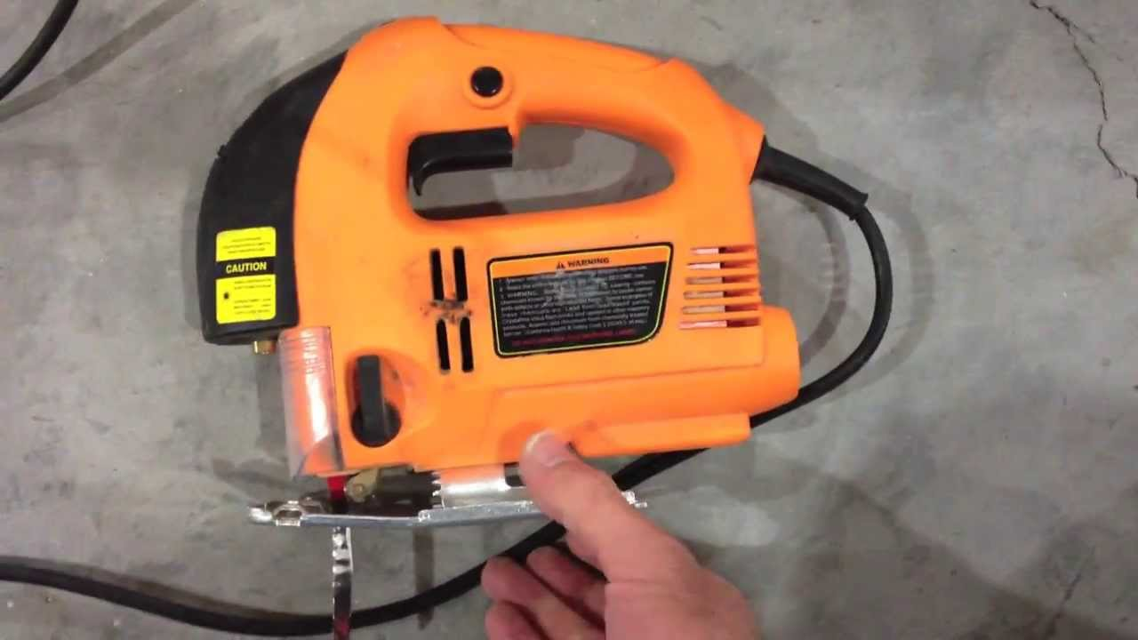Harbor freight chicago electric jig saw review poor youtube greentooth