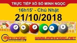 Xổ số Minh Ngọc™ Chủ Nhật 21/10/2018 - Kênh chính thức từ Minhngoc.net.vn