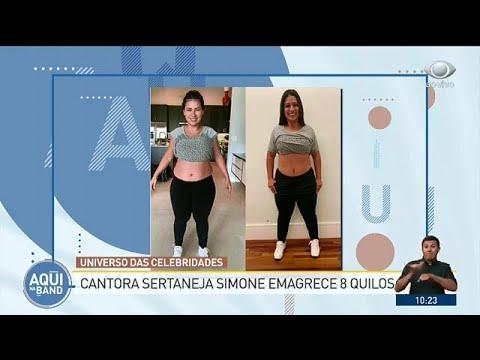 Sertaneja Simone Emagrece Oito Quilos Em Três Meses