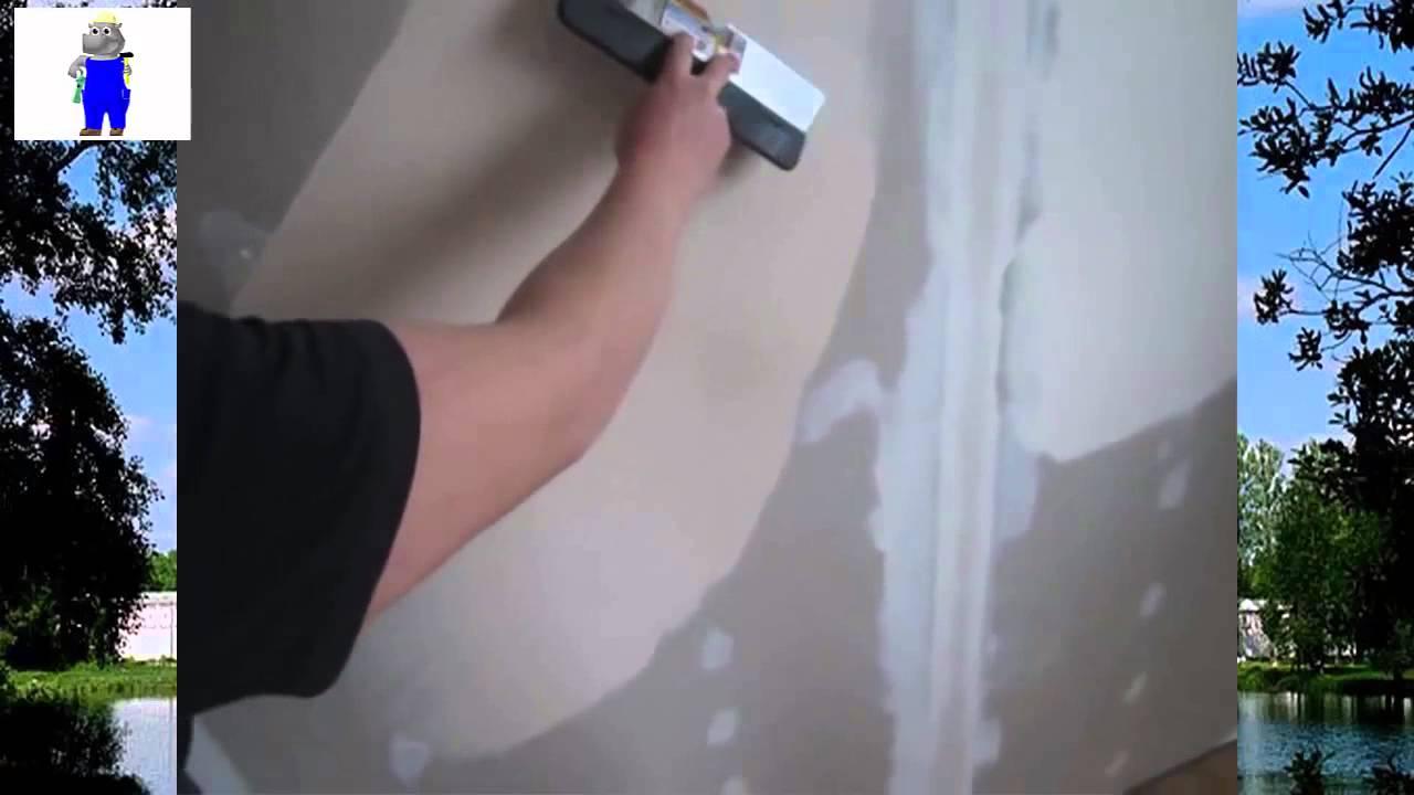 Шпатлевка стен по гипсокартону своими руками 6