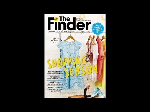 Behind The Scenes at The Finder Singapore - Issue 282