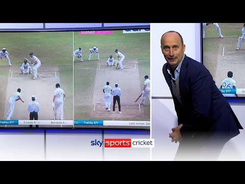 How should England's openers play spin? | Nasser Hussain analyses Dom Sibley & Zak Crawley