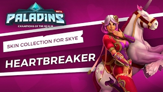 Paladins - New Skin Collection for Skye - Heartbreaker