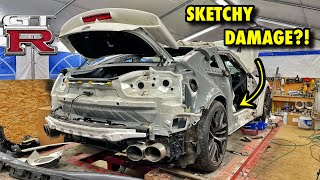 Rebuilding A 1000hp Nissan GT-R From Auction! (Part 3) I WAS HOPING THIS DIDN'T HAPPEN!!