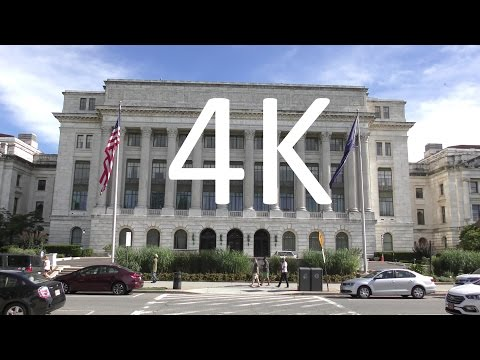 A 4K Tour of Washington, DC: Northwest + Tourist Attractions