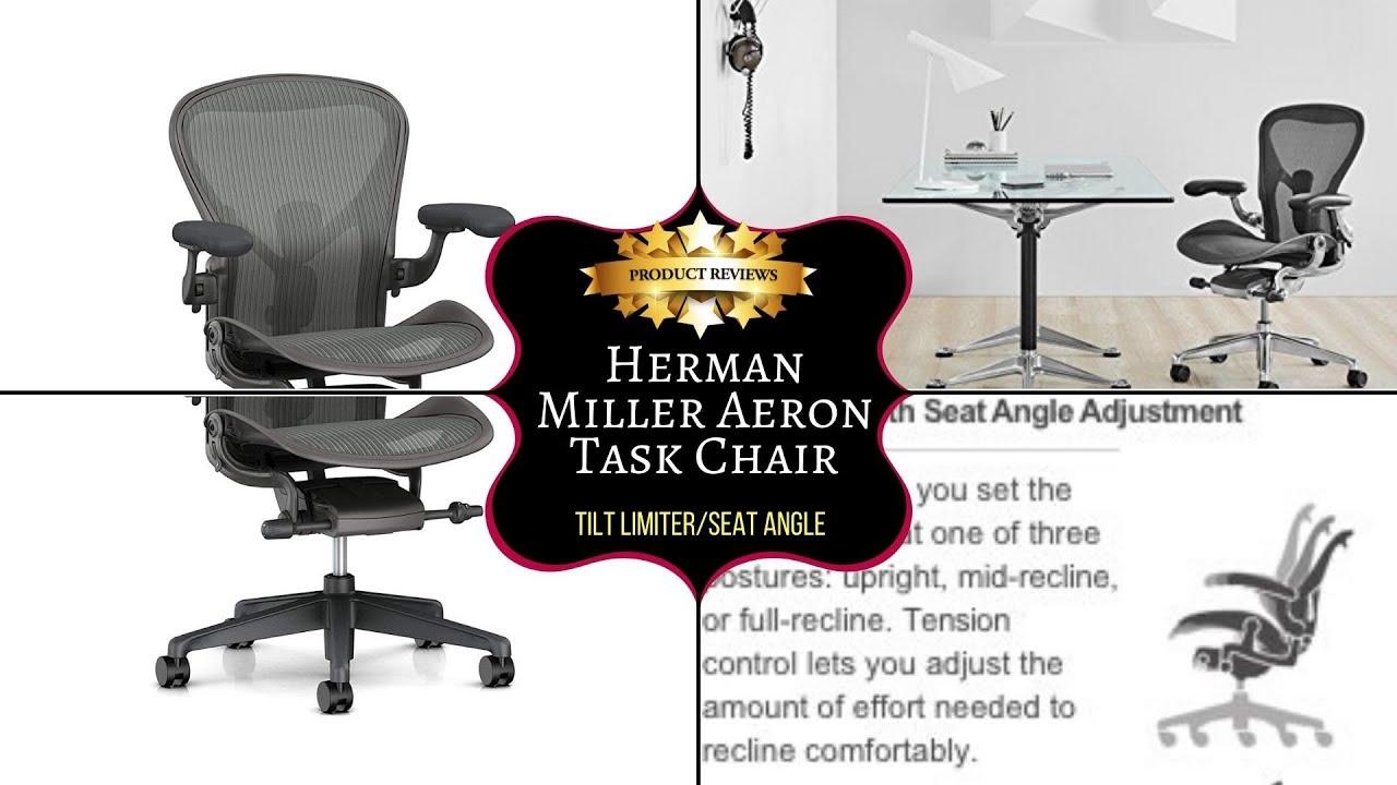 Herman Miller Aeron Task Chair Youtube