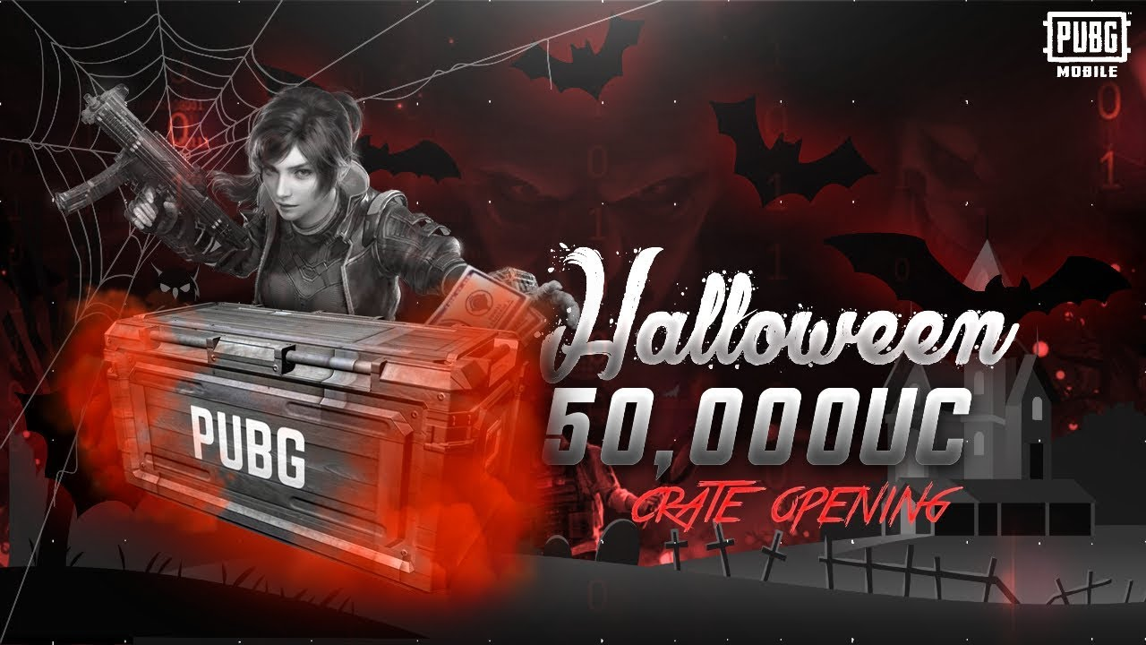 50000 UC CRATE OPENING | HALLOWEEN SPECIAL - EPIC SKINS AND MUCH MORE - Dynamo Gaming