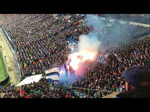 Schalke S04 Hamburg HSV Pyro