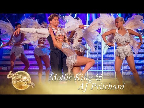 Mollie and AJ Charleston to 'Wings' by Little Mix - Strictly Come Dancing 2017