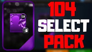 104 SELECT PACK OPENING IN NBA LIVE MOBILE 20!!!
