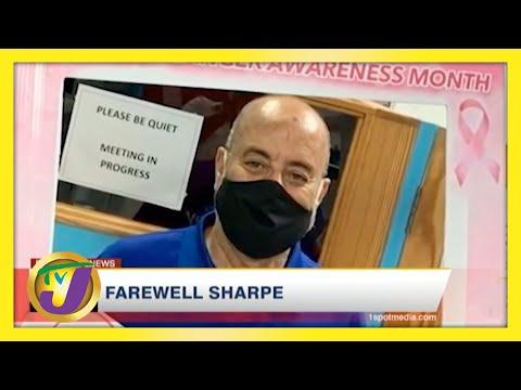 Farewell Jamaican Journalist Michael Sharpe   TVJ News