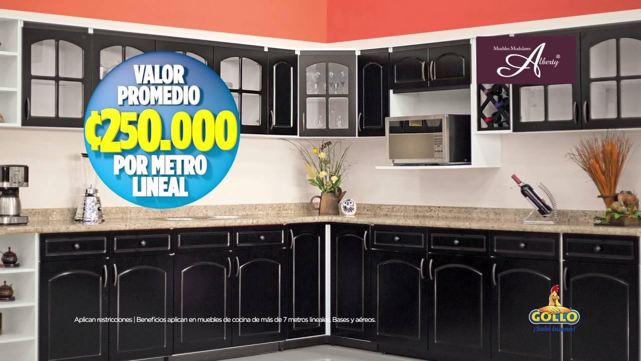Decile Sí a renovar tu cocina con los muebles modulares! - Gollo ...