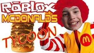 MIJN EIGEN MAC | Roblox McDonalds Tycoon