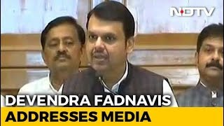"""Shiv Sena's Remarks Against PM Unacceptable,"" Says Devendra Fadnavis"