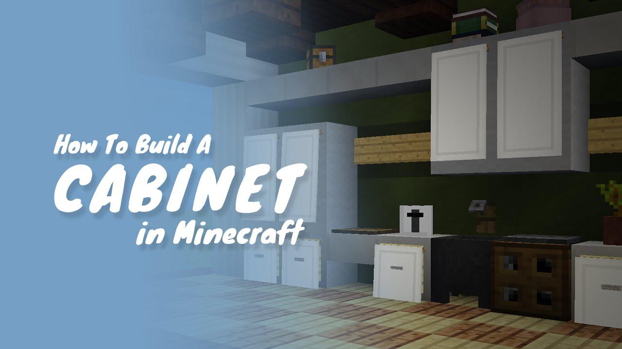 Kitchen Countertops In Minecraft