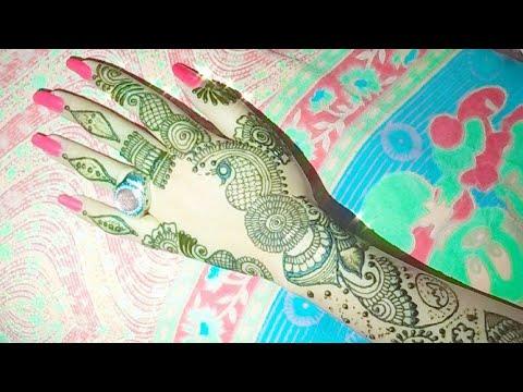 Unique And Trendy Back Hand Mehndi Design  Mehndi
