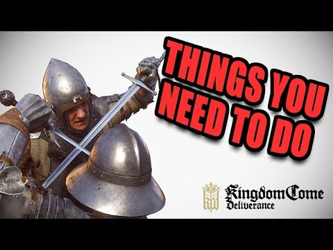 5 Things You need to do in Kingdom Come Deliverance