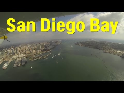 Flight - San Diego Bay - Low Bravo Transition With Communications