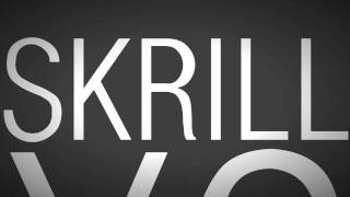 YO SKRILL DROP IT HARD (Typography)