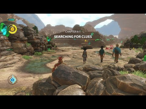 Knack 2 Chapter 6-1 Searching For Clues