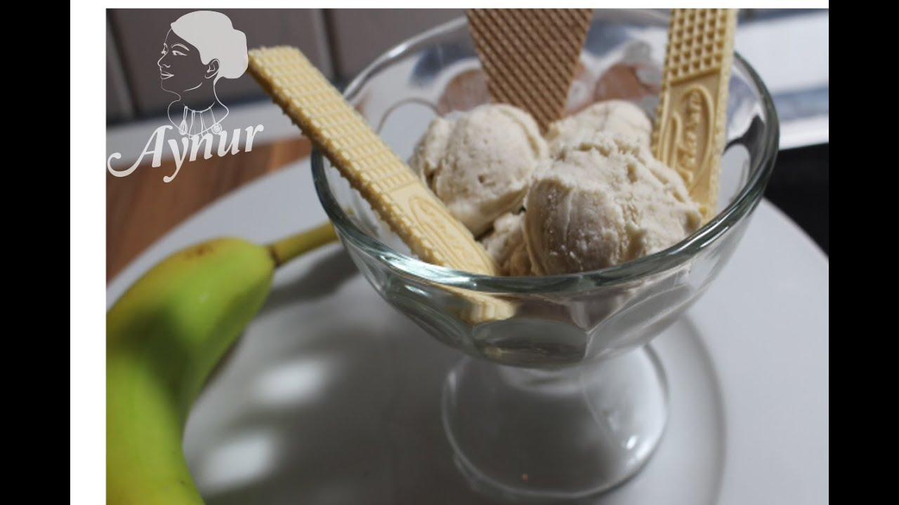 Avakado ve muzlu dondurma tarifi