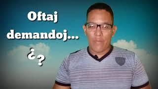 Oftaj demandoj #Esperanto #Venezuela #EsperantoLives