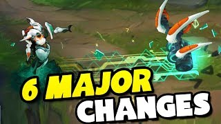 6 MAJOR CHANGES COMING TO LEAGUE OF LEGENDS