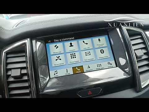 Hướng dẫn cách sử dụng SYNC 3 trên xe Ford nói chung và xe Ford Everest nói riêng