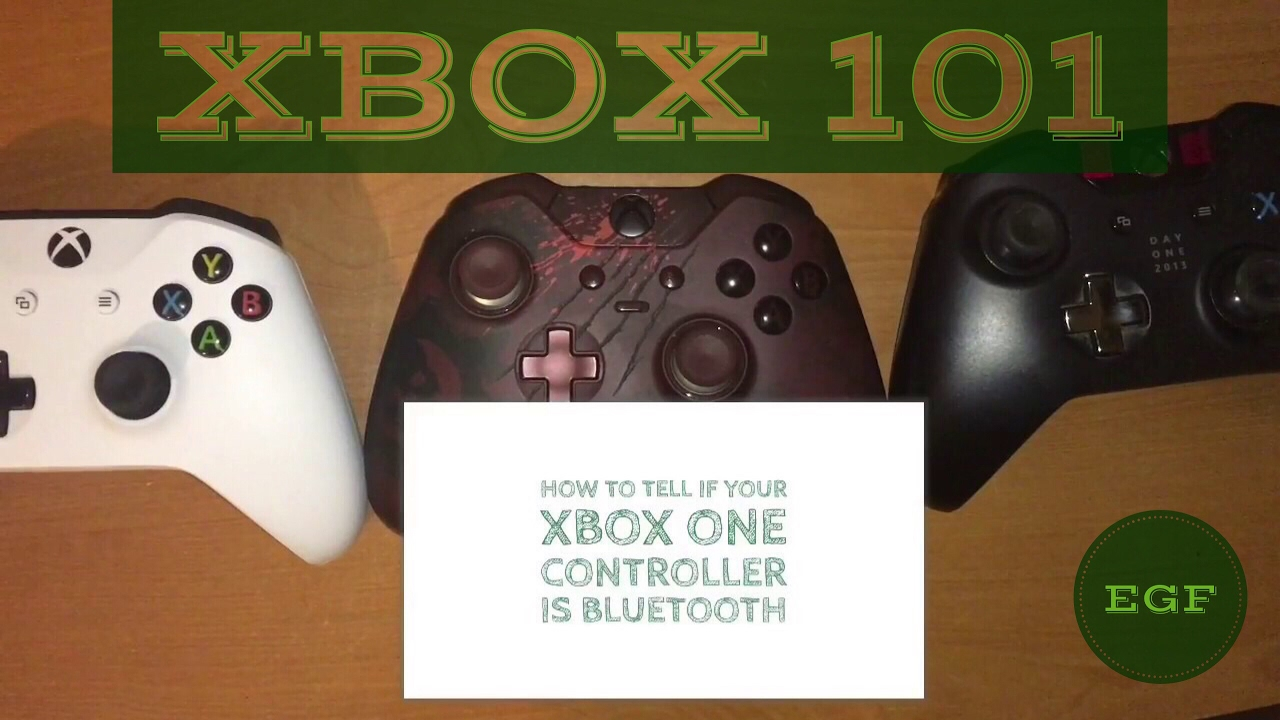 How To Tell If Your Xbox One Controller Is Bluetooth  [XBOX 101]