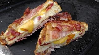 Full Bacon Jacket Cheese Toast