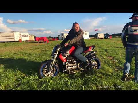 kees vogel compilation bmw k1100 supercharged speedwheelie runs elvington