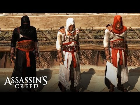 Assassin's Creed - ALL ALTAIR'S OUTFITS