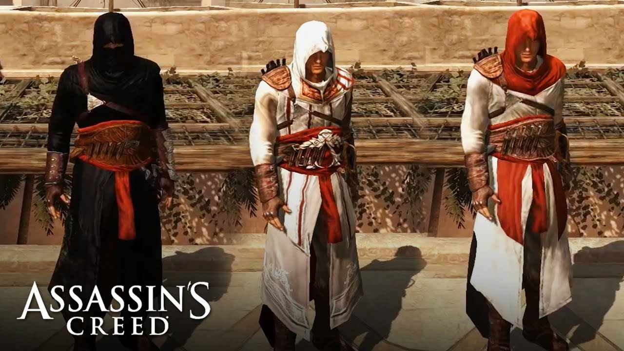 Assassin S Creed All Altair S Outfits Youtube