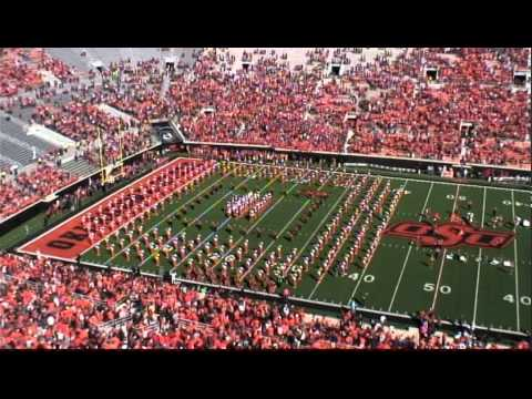Oklahoma State University Cowboy Marching Band Pregame Show